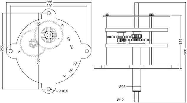 Clocks and Gears - RDUCH BELLS & CLOCKS - Dzwony, Napędy, Zegary